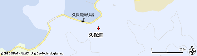 大分県佐伯市久保浦901周辺の地図