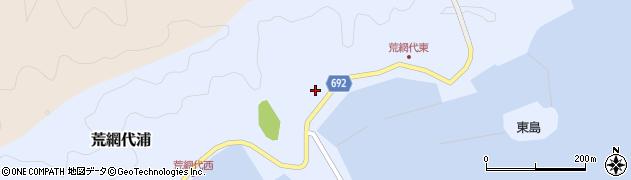 大分県佐伯市荒網代浦161周辺の地図