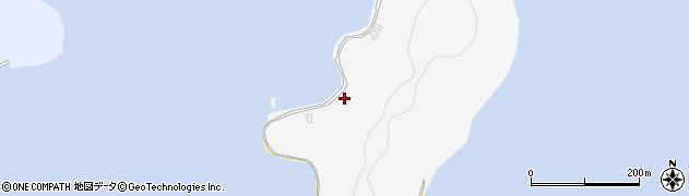 大分県佐伯市狩生3647周辺の地図