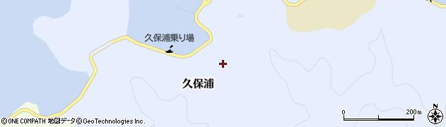 大分県佐伯市久保浦914周辺の地図