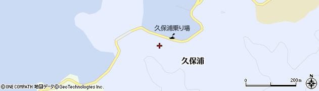 大分県佐伯市久保浦872周辺の地図