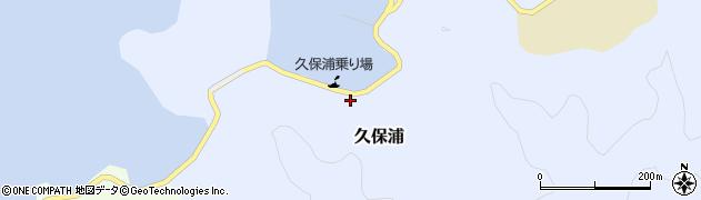 大分県佐伯市久保浦897周辺の地図