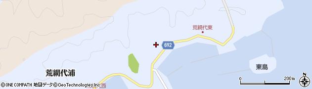 大分県佐伯市荒網代浦159周辺の地図