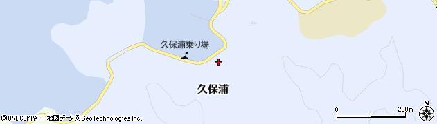 大分県佐伯市久保浦905周辺の地図