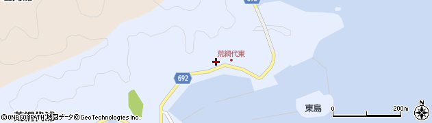 大分県佐伯市荒網代浦60周辺の地図