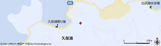 大分県佐伯市久保浦806周辺の地図