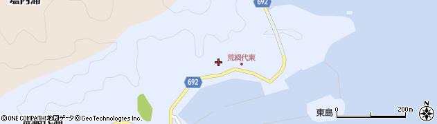 大分県佐伯市荒網代浦124周辺の地図