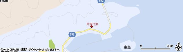 大分県佐伯市荒網代浦54周辺の地図