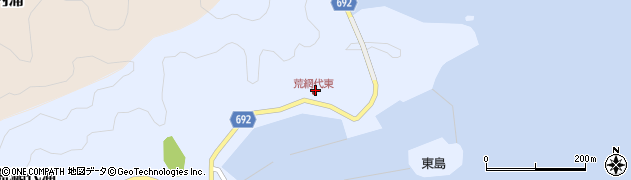 大分県佐伯市荒網代浦52周辺の地図