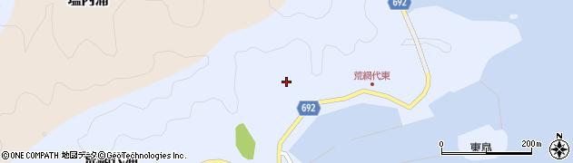 大分県佐伯市荒網代浦146周辺の地図