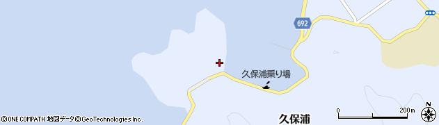 大分県佐伯市久保浦884周辺の地図