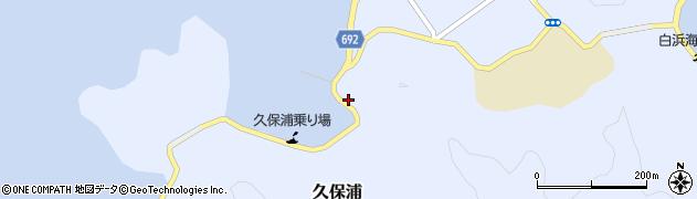 大分県佐伯市久保浦924周辺の地図
