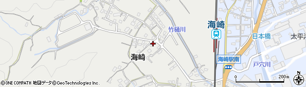 大分県佐伯市海崎2474周辺の地図