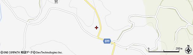大分県竹田市古園729周辺の地図