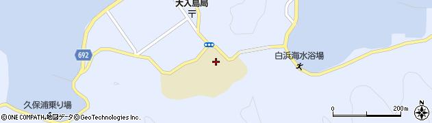大分県佐伯市久保浦1088周辺の地図