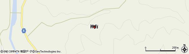 高知県宿毛市橋上町神有周辺の地図