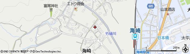 大分県佐伯市海崎2536周辺の地図