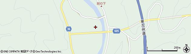 大分県佐伯市弥生大字床木3025周辺の地図
