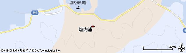 大分県佐伯市塩内浦164周辺の地図
