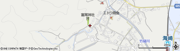 大分県佐伯市海崎2604周辺の地図