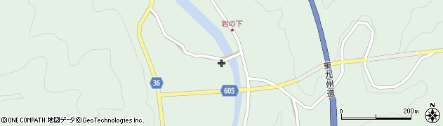大分県佐伯市弥生大字床木3037周辺の地図