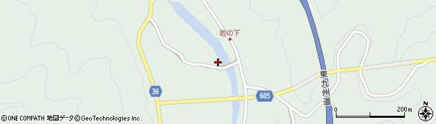 大分県佐伯市弥生大字床木3035周辺の地図