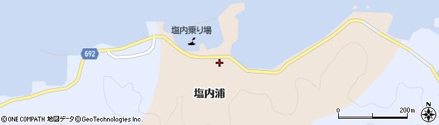 大分県佐伯市塩内浦145周辺の地図