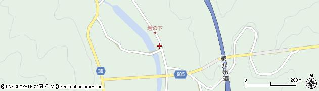 大分県佐伯市弥生大字床木1283周辺の地図