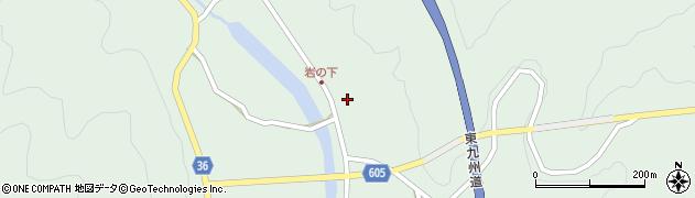大分県佐伯市弥生大字床木1280周辺の地図