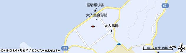 大分県佐伯市久保浦片神区周辺の地図