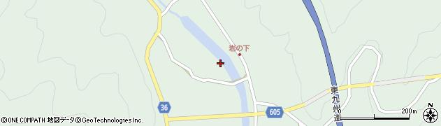 大分県佐伯市弥生大字床木3033周辺の地図