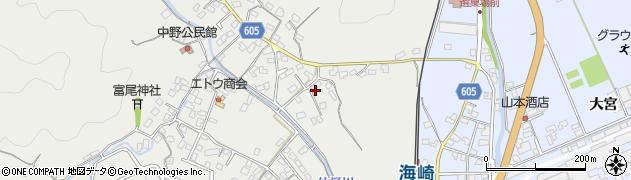 大分県佐伯市海崎3453周辺の地図