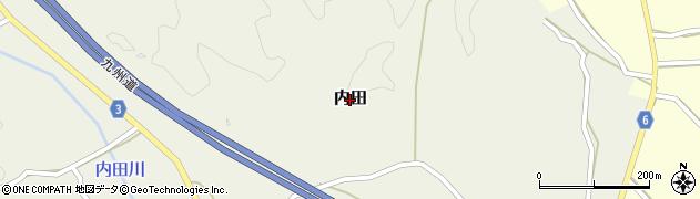 熊本県和水町(玉名郡)内田周辺の地図