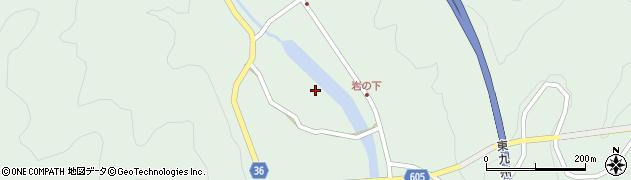 大分県佐伯市弥生大字床木3031周辺の地図