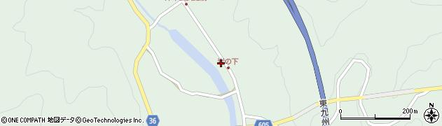 大分県佐伯市弥生大字床木1289周辺の地図