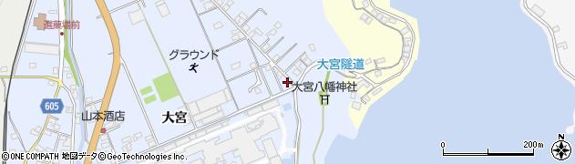 大分県佐伯市戸穴236周辺の地図