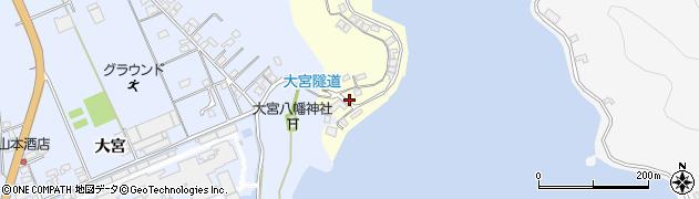 大分県佐伯市霞ケ浦141周辺の地図