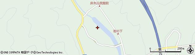 大分県佐伯市弥生大字床木2989周辺の地図