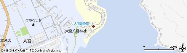 大分県佐伯市霞ケ浦147周辺の地図