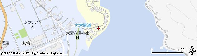 大分県佐伯市霞ケ浦154周辺の地図