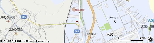 大分県佐伯市戸穴603周辺の地図