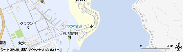 大分県佐伯市霞ケ浦157周辺の地図