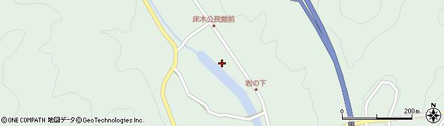 大分県佐伯市弥生大字床木1291周辺の地図