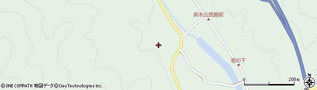 大分県佐伯市弥生大字床木2893周辺の地図