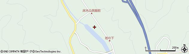 大分県佐伯市弥生大字床木1339周辺の地図