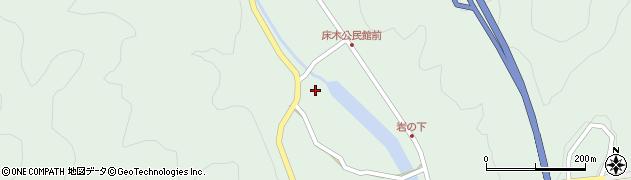 大分県佐伯市弥生大字床木2982周辺の地図