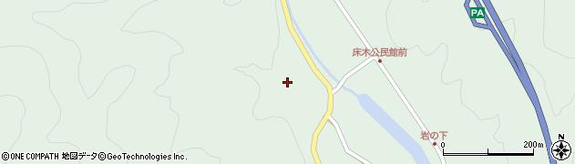 大分県佐伯市弥生大字床木2887周辺の地図