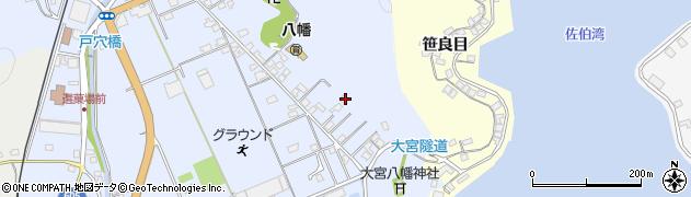 大分県佐伯市戸穴59周辺の地図