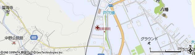 大分県佐伯市戸穴619周辺の地図