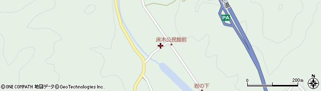 大分県佐伯市弥生大字床木1344周辺の地図